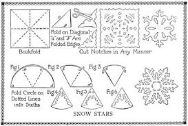 How To Make A Snowflakes Out Of Paper - kid activities seasonal snowflakes