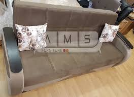 Double Bed Settee Brand New Persian Fabric Sofa Bed Settee 3 Seater Small Double