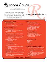 Hairdresser Resume Student Hair Stylist Resume Professional Resumes Sample Online