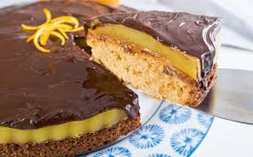 Biscuit Cake Giant Jaffa Cake Biscuit Cake With Orange Jelly And Chocolate