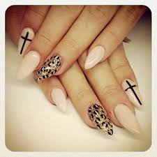 cheetah cat acrylic nails nails pinterest