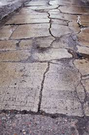 How To Resurface Concrete Patio How To Repair Driveway Cracks Brick Pavers Driveways And Concrete