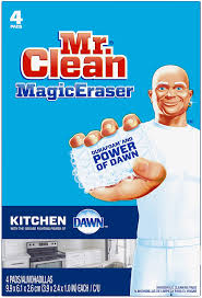 can you use magic eraser on cabinets mr clean magic eraser kitchen cleaning pads with durafoam 4 count packaging may vary