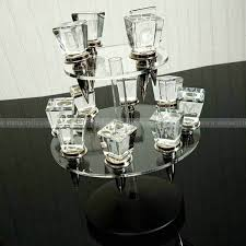 swivel acrylic wine stopper display revolvable acrylic wine bottle