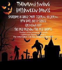 halloween city eureka ca tsunami swing halloween dance crescent city del norte county