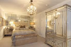 bedroom decorative old hollywood mirrored bedroom furniture