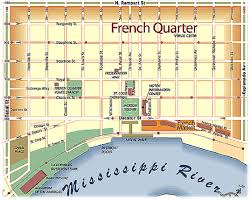 New Orleans Map French Quarter
