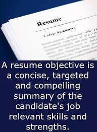 Resume Objective Statements Sample by Resume Objective Samples That Really Work