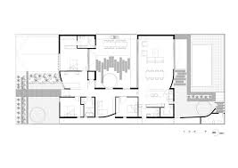 gallery of courtyard house figr architecture design 16 courtyard house ground floor