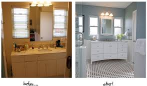 Bathroom Makeover Ideas Diy Bathroom Remodel Before And After Home Design Ideas