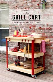 Butcher Build by How To Build A Rolling Grill Cart