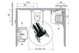 hauteur d un plan de travail de cuisine norme hauteur plan de travail cuisine 18 espace libre de 110cm d