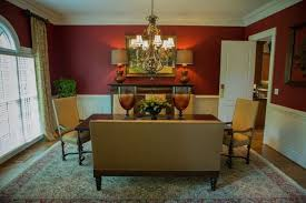 Dining Rooms With Wainscoting Dining Room With Wainscoting And Burgundy Walls Burgundy Walls