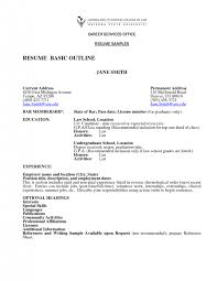 simple easy resume sample quick and examples template basic