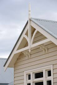 Victoria Houses by Weatherboard Home Gables Victorian Eaves And Gable Brackets
