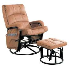 glider rocker with ottoman leather glider chairs with ottoman
