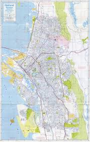 Oakland Map Alameda California 1978 Old Map Alamedainfo