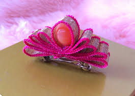 ribbon hair clip diy how to make a crown with ribbon hair clip