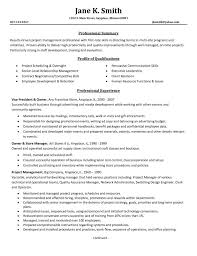 Events Manager Resume Sample Resume Template Free by Example Of Resume Profile Entry Level Httpwwwresumecareerinfo