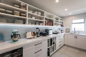 Kitchen Scullery Designs Large Walk In Scullery With Open Shelves And Sink Modern