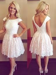 discount knee length short puffy dress 2017 knee length short