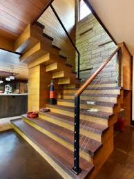 Industrial Stairs Design Industrial Railing For Homes A More Decor