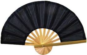 asian fan asian fans black bamboo fan