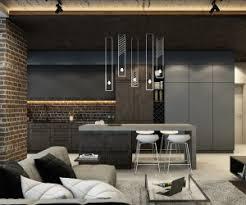 brick wall design brick wall studio apartment inspiration