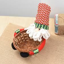 Christmas Decoration Storage Diy by Aliexpress Com Buy Cute Small Christmas Candy Storage Basket Diy
