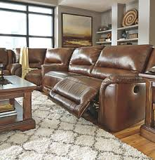 Leather Power Reclining Sofa Power Seating Ashley Furniture Homestore