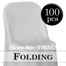White Folding Chair Covers Popular White Wedding Folding Chairs Buy Cheap White Wedding