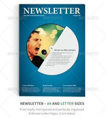 best photos of indesign 4 page focus newsletter templates one