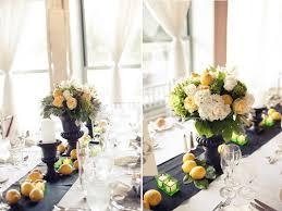 wedding centerpieces reception decor lemons
