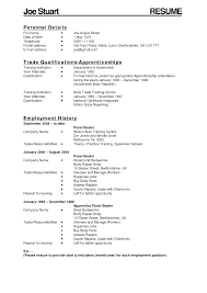 Auto Mechanic Resume Examples by Working Resume Resume For Your Job Application