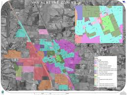 Austin Zoning Map by Map Of City Limits Etj U2013 City Of Van Alstyne Texas