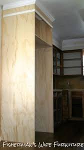 how to build a cabinet around a refrigerator diy refrigerator enclosure white kitchen makeover kitchen