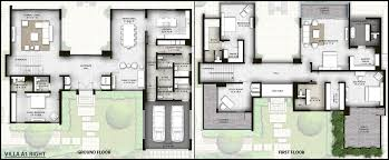 villa floor plan luxury villas at al barari dubai the nest