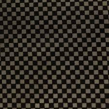 Black Upholstery Leather Shason Textile Faux Leather Checkers Print Upholstery Fabric