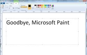 microsoft paint to be given death sentence after 32 years