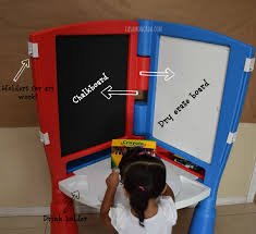Casa Moncada Little Tikes 2 In 1 Art Desk And Easel Back To