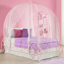 Pink Canopy Bed Zoomie Canopy Bed Reviews Wayfair