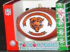 chicago bears celebration christmas ornament everything