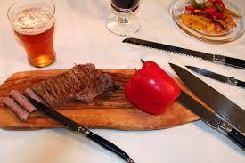 Laguiole Kitchen Knives by French Home Laguiole 5 Piece Kitchen Knife Set U0026 Reviews Wayfair