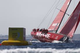 mapfre draw first blood in volvo ocean race world sailing