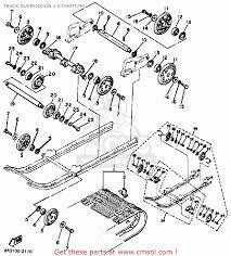 yamaha et340 tf enticer 1982 1983 track suspension 1 et340tf tg