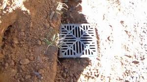 how to install your french drain trenching pipe sump connection