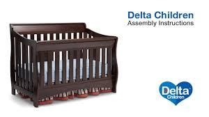 Delta Bentley 4 In 1 Convertible Crib Delta Children Bentley S Oberon 4 In 1 Crib Assembly