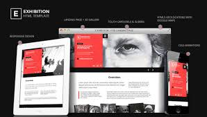 exhibition html landing page art gallery muesum by themderbolt