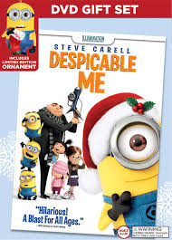 despicable me limited edition ornament gift set dvd