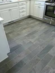 slate look kitchen tile floor for the home tile